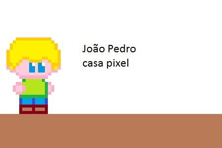 João Pedro casa pixel